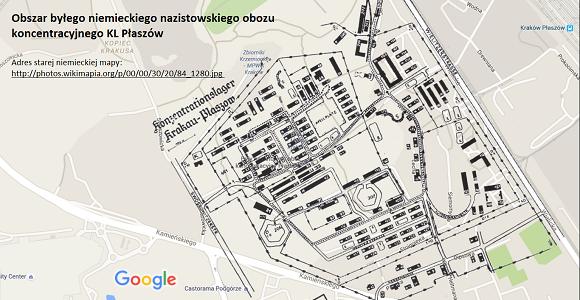 Obszar byłego niemieckiego nazistowskiego obozu koncentracyjnego KL Płaszów
