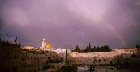 Tęcza nad Jerozolimą