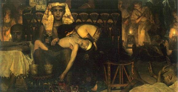 Sir Lawrence Alma-Tadema - Śmierć pierworodnych