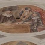 """""""Trzy Hostie""""- fresk z jednego z poznańskich kościołów"""