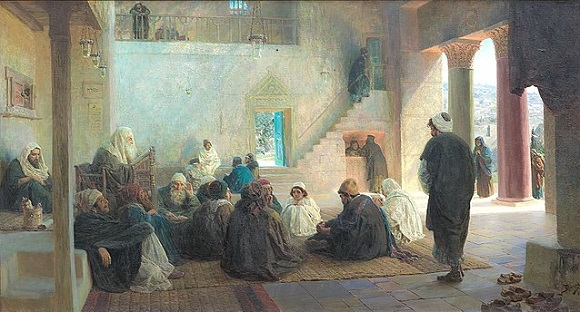 "Vasily Dmitrievich Polenov, ""Christ among the Doctors"" (1896)"